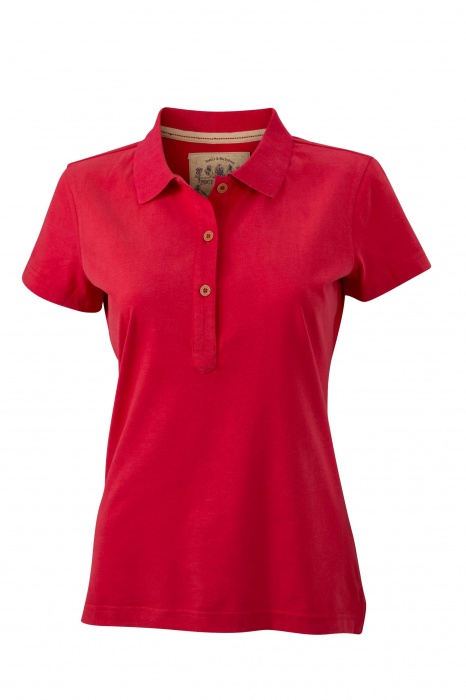 Dámská polokošile James & Nicholson Ladies' Vintage Polo