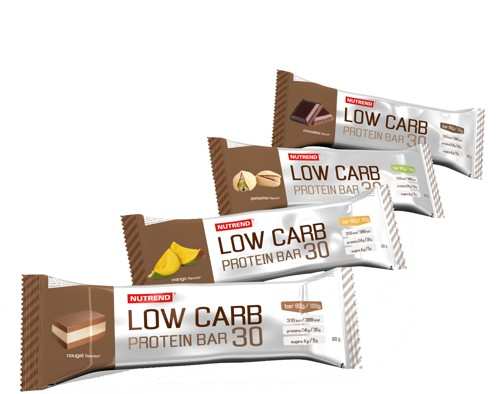 LOW CARB PROTEIN BAR 30 80 g pistácie NUTREND