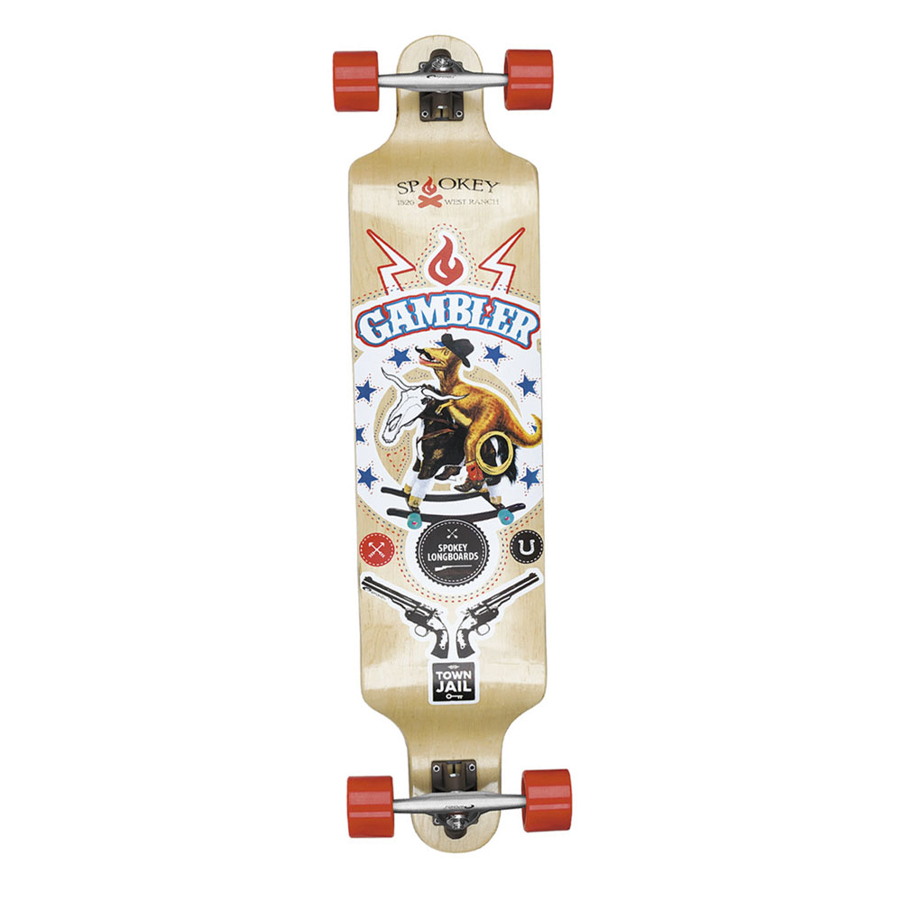 Long board Gambler Spokey