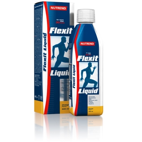 Fotografie FLEXIT LIQUID 500 ml citron NUTREND